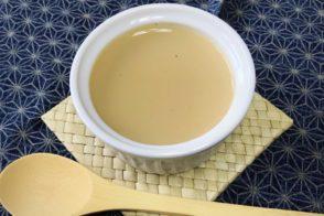 管理栄養士からの一口メモ【ほうじ茶プリン・レシピ】