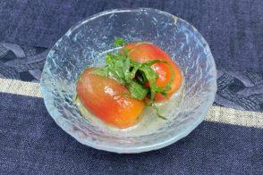 管理栄養士からの一口メモ【トマトを使った簡単レシピ】